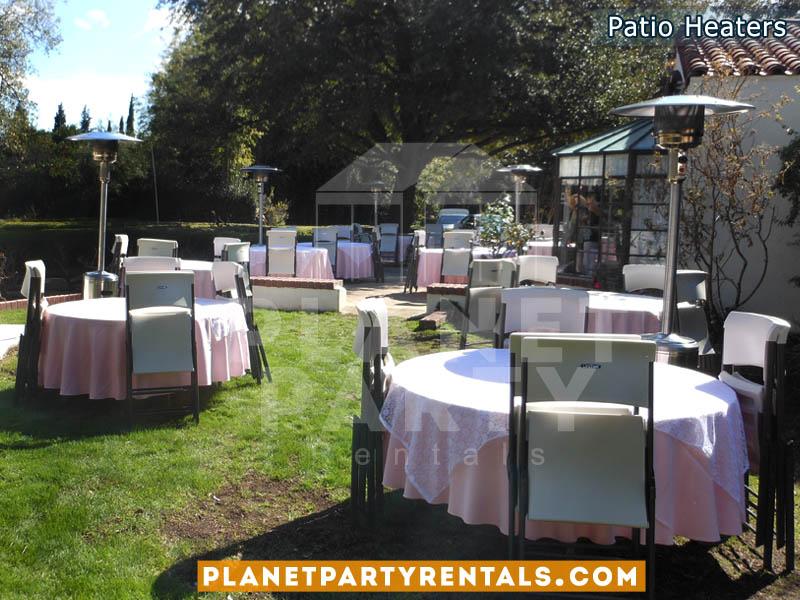 Outdoor Heater Rentals for Weddings