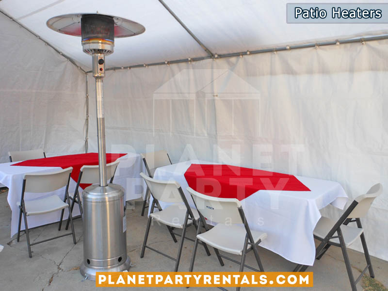 Heater rentals for outdoors | Patio Heater Rentals San Fernando Valley | Patio Heater Prices and Pictures