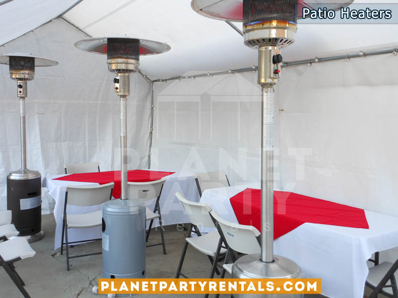 Outdoor Patio Heater With Propane Tank| San Fernando Valley Party Rentals |  Party Supplies