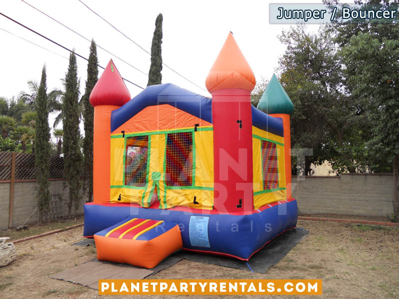 Jumper rentals San Fernando Valley | Jumper packages with tables and chairs available