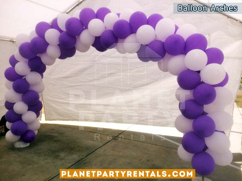 Balloon Decorations | Balloon Arches|Tent Rentals|PatioHeaters ...