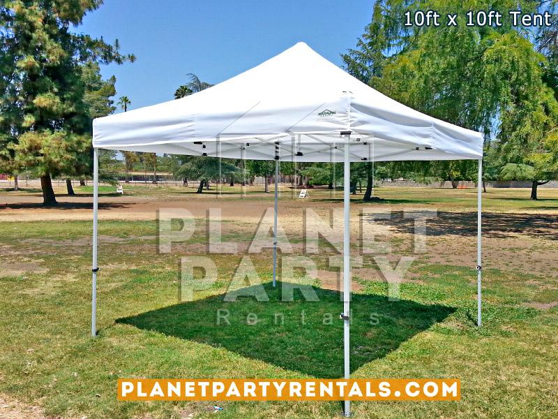 10ft x 10ft White Tent