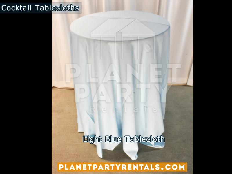 Cocktail Tablecloth Light Blue