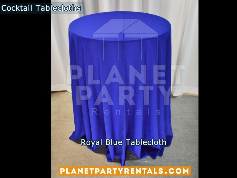 Cocktail Tablecloth Royal Blue
