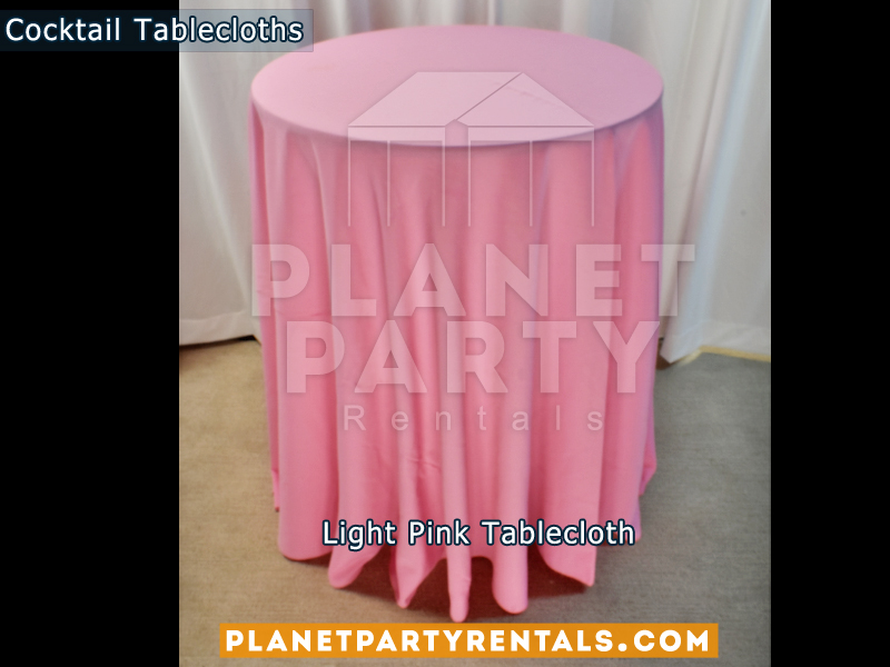 Cocktail Tablecloth Light Pink