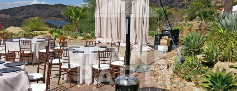 Heater Rentals for Outdoors and Backyard Events